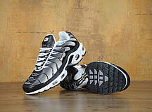 Мужские кроссовки Nike Air Max TN Black/White/Grey, Найк Аир Макс ТН, фото 3
