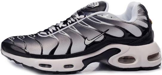 Мужские кроссовки Nike Air Max TN Black/White/Grey, Найк Аир Макс ТН