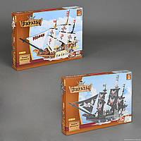 """Конструктор AUSINI 27903-4 """"Пиратский корабль"""" 714 дет, 2 вида"""