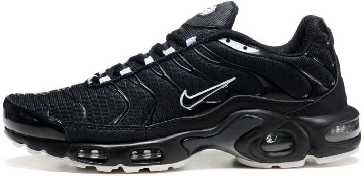 Мужские кроссовки Nike Air Max TN Black, Найк Аир Макс ТН