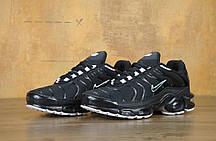 Мужские кроссовки Nike Air Max TN Black, Найк Аир Макс ТН, фото 2