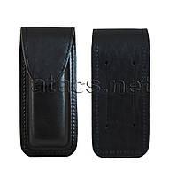 Чехол для ножа, кожаный черный (РАЗМЕР XL)