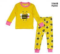 "Пижама ""Пчёлка"" для девочки. 3 года, фото 1"