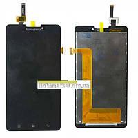 Модуль (сенсор + дисплей) Lenovo P780  чорний