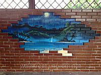 Пейзаж на стену