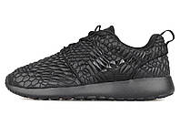 Женские кроссовки Nike Roshe Run Black Texture