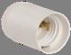 Ппл27-04-К02 Патрон подвесной пластик, Е27, белый, индивидуальный пакет, IEK