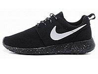 Женские кроссовки Nike Roshe Run Black Dalmatin