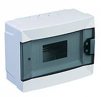 Щит электрический накладной на 6 автомата IP40 Lemanso LMA108