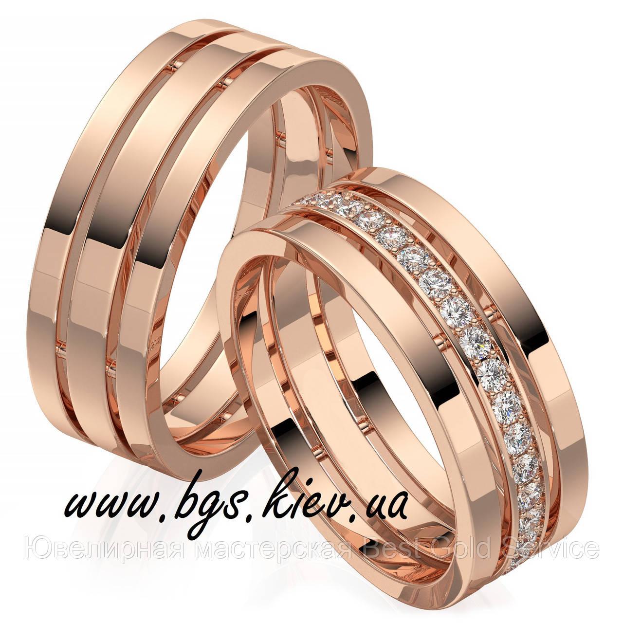 a11b4bf84290 Обручальные кольца на заказ из желтого золота   продажа, цена в ...