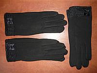 Женские перчатки Корона с начесом. Бамбук, фото 1