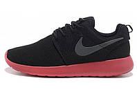 Женские кроссовки Nike Roshe Run Black/Pink