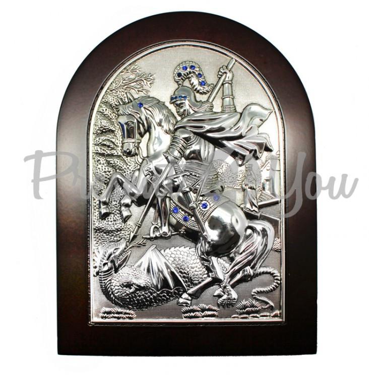 Икона «Георгий Победоносец»,16х22 см (466-1260)