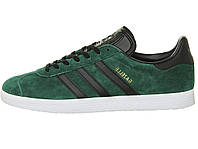 Мужские кроссовки Adidas Gazelle Collegiate Green/Black