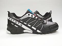 Кроссовки женские спортивные черно-белые