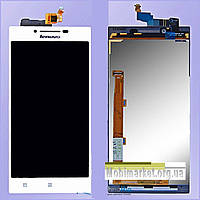 Модуль (сенсор + дисплей) Lenovo P70 білий
