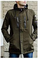 Куртка деми Парка хаки