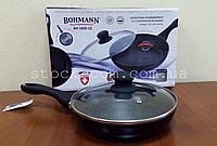 Сковорода Bohmann BH 1000-22 алюминиевая c мраморным покрытием , фото 1
