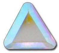 2711 Triangle, 6mm, Crystal AB (001 AB)