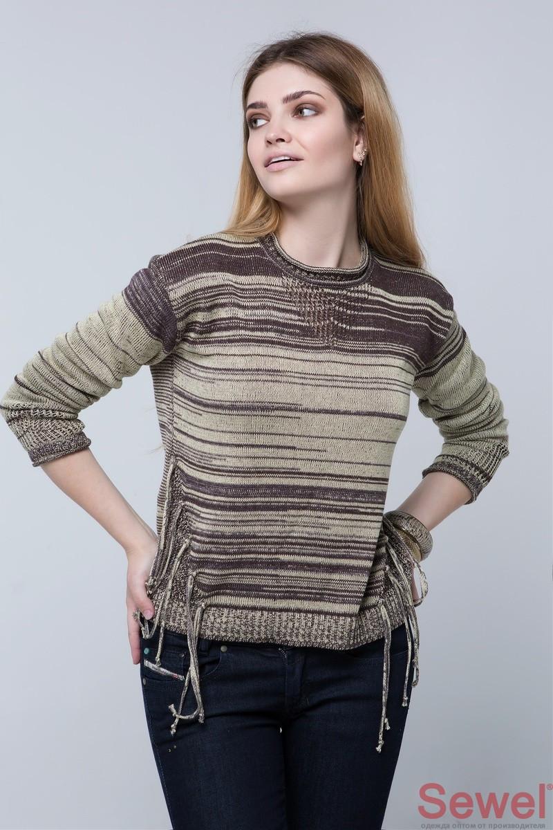 Женский вязаный свитер, джемпер