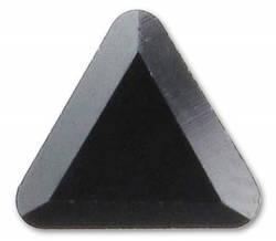 2711 Triangle, 6mm, Jet Hematite (280 HEM)