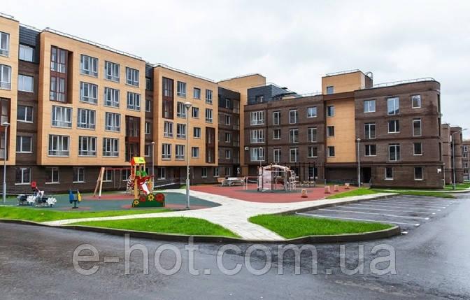 Проектирование многоквартирного дома из газоблоков, пеноблоков