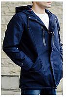 Куртка деми Парка синий
