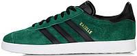 Мужские кроссовки Adidas Gazelle Green Suede BZ0033, Адидас Газели