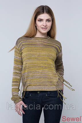 Вязаный женский свитер, джемпер, фото 2