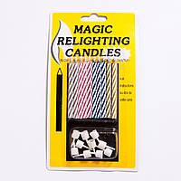 """Свечи для торта """"Магические""""."""