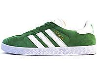 Мужские кроссовки Adidas Gazelle Green/White