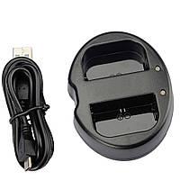 Зарядное устройство USB для 2-х аккумуляторов Canon LP-E6, LP-E6N