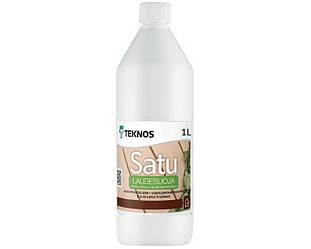 Масло влагозащитное TEKNOS SATU LAUDASUOJA для полок в саунах 1л