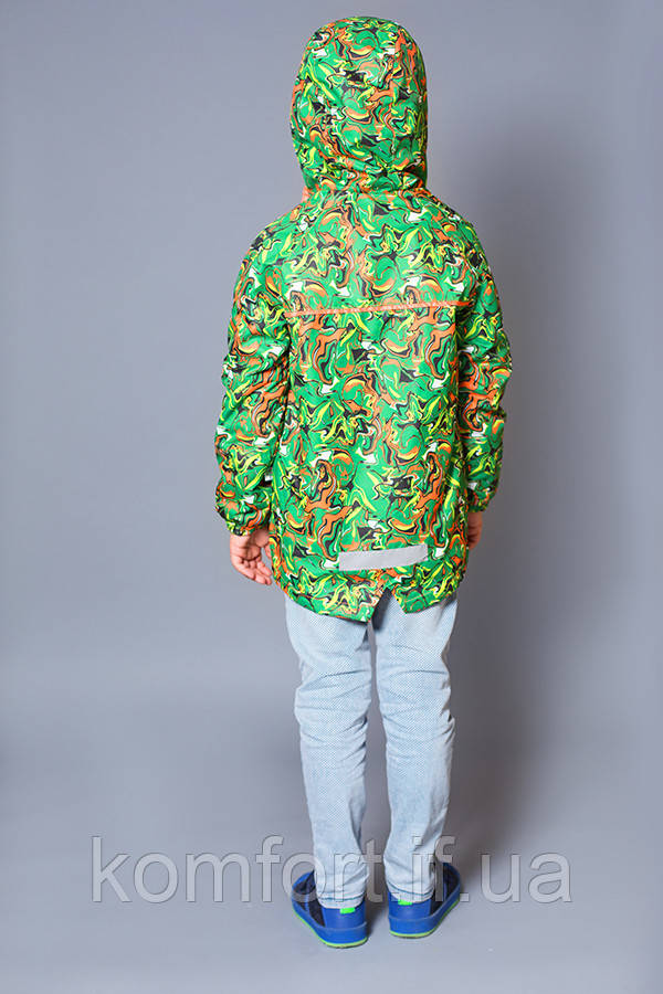 Куртка-ветровка на флисе для мальчика