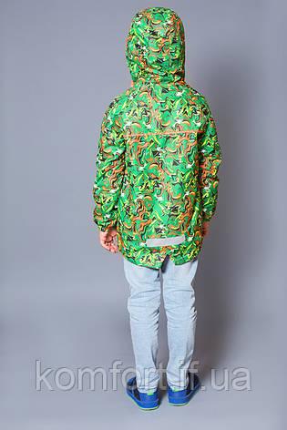 Куртка-ветровка на флисе для мальчика, фото 2