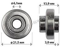 Подшипники для колёс 21.5*14*6.1 мм, фото 1