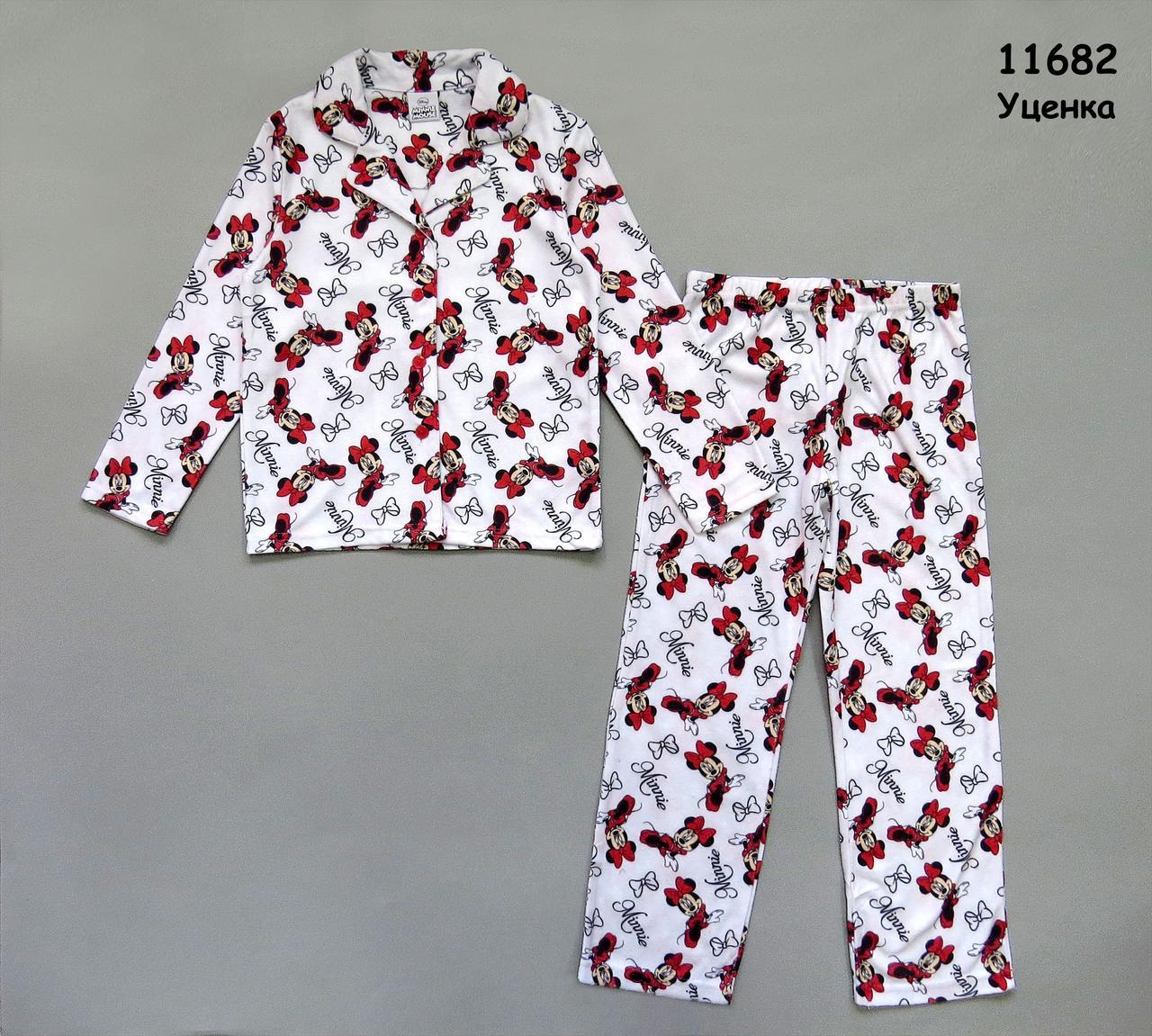 Флисовая пижама Minnie Mouse для девочки. 5-6 лет (116 см) - f3af2fc78240d
