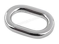 Кольцо сумочное, цв. никель, 4025, фото 1