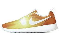 Женские кроссовки Nike Roshe Run Orange Light