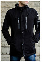 Куртка деми Парка черный