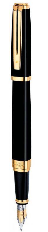 Нежная ручка перьевая Waterman EXCEPTION Ideal Black GT FP 11 027