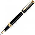 Нежная ручка перьевая Waterman EXCEPTION Ideal Black GT FP 11 027, фото 3