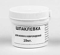Шпаклевка / жидкая кожа для мелких повреждений Dr. Leather, бесцветная, 20 мл