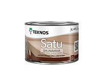 Масло-воск влагозащитный TEKNOS SATU SAUNAVAHA для саун бесцветный 0,45л