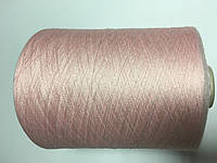 Вискоза 80% шелк 20% розового цвета, размер 2200 метров в 100 граммах.