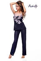 Пижама с кружевом Suavite Мери-П1