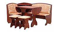 Кухонный уголок с не раскладным столом Виконт  (Пехотин) 1500х1100х850мм