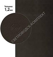 ТОПИ, TOPY, р. 400*600*1.2 мм, цв. коричневый - резина подметочная/профилактика листовая