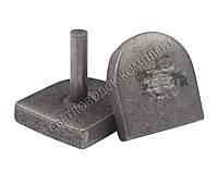 Набойка металлическая на штыре, 15*16 мм, Светловодск, фото 1