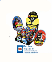Шоколадное яйцо Бэтмен Batman Go 25 гр. 24 шт Anl